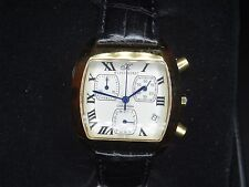 VINTAGE  Men's KLAUS KOBEC CHARISMA CHRONOGRAPH gold plated quartz watch