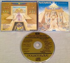 IRON MAIDEN - Powerslave CD 1ST PRESS EMI W.GERMANY *W STICKER INLAY MEGA RARE