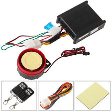 315MHz Waterproof Antitheft Motorcycle Security Alarm Remote Start System DC12V