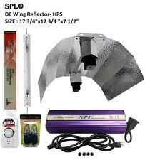 SPL 1000W Watt HPS Double Ended Wing Reflector Grow Light Digital System Fixture