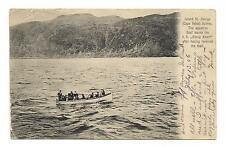 OLD VINTAGE POSTCARD SEASICK SHIP SEASICKNESS BOAT CAPE VELAS AZORES PORTUGAL