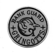 Harry Potter Gringotts Bank Guard Embroidered Patch Universal Studios NEW UNUSED