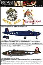 Kits World Decals 1/72 B-25J PBJ-1J MITCHELL Devil Dog & 1 For the Gipper