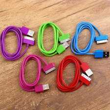USB Charger Sync Data Cable for iPad2 3 iPhone 4 4S 3G 3GS iPod Nano Touch F5