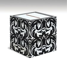 DAMASK Black & White Ever After MONEY GIFT CARD BOX Wedding Decoration Wishing