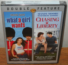 Chasing Liberty/What a Girl Wants (DVD, 2007) Amanda Bynes Mandy Moore NEW!!!
