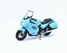 1:18 Welly TRIUMPH TROPHY Motorcycle Bike Model Wathet