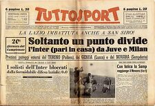 rivista TUTTOSPORT - 22/01/1951 N. 9 SOLO UN PUNTO TRA INTER, JUVE E MILAN
