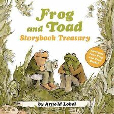 I Can Read Level 2: Frog and Toad Storybook Treasury by Arnold Lobel (2013,...