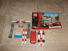 LEGO Pixar Cars 8423 World Grand Prix Racing Rivalry RETIRED Loose Set