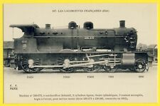 cpa Collection Fleury, PARIS French LOCOMOTIVE Built in 1912 Réseau de l'Etat