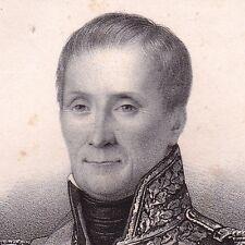 Portrait Édouard Thomas Burgues de Missiessy Toulon Var Napoléon Bonaparte 1835