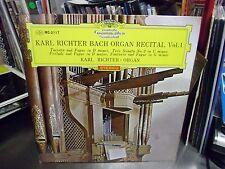 Karl Richter Bach Organ Recital Vol. 4 Japan Import LP DGG EX [Red Tulip]
