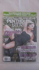 Penthouse Letters Magazine March 2014 With DVD Included Factory Sealed  NEW eb60
