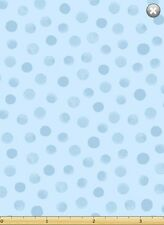 Susybee LEWE the EWE Light Blue Dot Quilt Fabric by 1/2 yard #20157-710