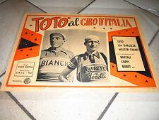 TOTò GIRO D'ITALIA,COPPI,BARTALI,FOTOBUSTA,1948,CICLISMO,BIANCHI LEGNANO,PIRELLI