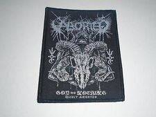 ABORTED GOD OF NOTHING WOVEN PATCH