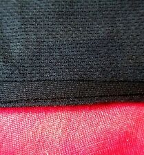 1 Metre x 500mm.  Black Speaker Grill  Fabric /  Cloth / Material. UK Made
