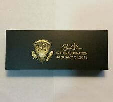 5 Sets of Barack Obama 57th Laser Engraved Presidential Commerative Pen Set