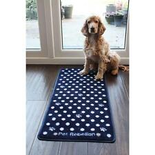 Pet Rebellion Door Runner Barrier Rug/Mat,Super Absorbent,Machine Washable,