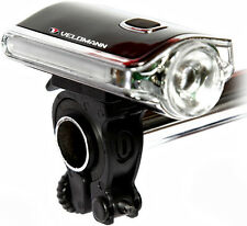 Velomann CREE LED Front Cycle Bike Light & Side Warning Lights / Batteries inc