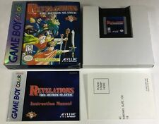 Revelations The Demon Slayer GBC Complete In Box CIB Rare Gameboy Color Game Boy