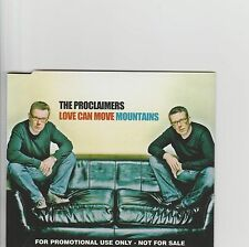 PROCLAIMERS-Love Can Move Mountains UK Promo cd single