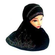 Testa panno di panno STRASS copricapo Jadeed muslima Panno Hijab Khimar Niqab