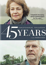 45 YEARS (DVD, 2016) - BRAND NEW SEALED OFFICIAL U.S. STUDIO RELEASE! FREE SHIP!