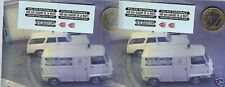 decals decalcomanie decalque deco sur renault estafette police crs  1/43