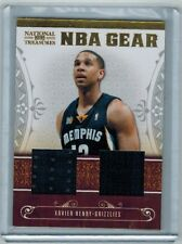 2010-11 NATIONAL TREASURES XAVIER HENRY ROOKIE DUAL JERSEY 04/99 LA LAKERS
