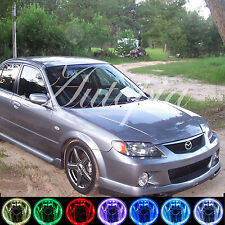 2000-2003 Mazda Protege Halo Fog Lamps Protege5 Lights