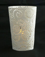 20 white tealight table candle holders wedding party decoration Sun Flower 11cm