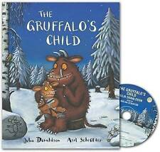 THE GRUFFALO'S CHILD - JULIA DONALDSON  (Book & CD)  *BRAND NEW*