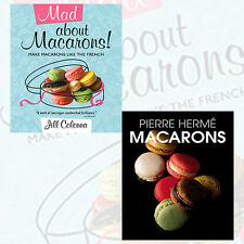 Jill Colonna & Pierre Herm 2 Books Collection Set, Macarons,Mad About Macarons!