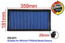 High-Flow Simota Air Filter for VW Bora Golf 4 Audi TT A3 S3 Skoda OV-011