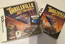 NINTENDO DS NDS DSL DSi GAME THRILLVILLE OFF THE RAILS +BOX INSTRUCTION COMPLETE