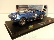 Slot Scalextric Revell 08360 Corvette Grand Sport #65 Nassau '63