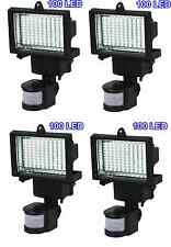 4 Pack 100 SMD LEDs Solar Powered Motion Sensor Security Light Flood 16 22 60 80