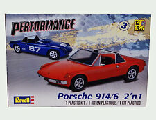 Revell Monogram 1968 Porsche 914/6 Targa 2 in 1 Model Kit 1/25