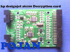 Decryption card for HP DSJ Z6100 #91 C9464A C9470A Ink Cartridge Permanent Chip