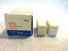 NEW BOX OF 2 POTTER & BRUMFIELD #593 R10SE1Y2-J10.0K RELAY