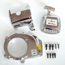 Silver Engine Cover set for baja 5B 85108 for HPI KM Rovan