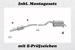Endtopf Auspuff  Renault Clio II  2 1.2-1.4i 16V