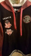 mens jacket NBA toronto raptors jacket size large makes a great Christmas gift.