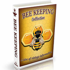 MASSIVE 167 BEE KEEPING BOOK COLLECTION on DVD Honey Bees Hives Wax Smoker Queen