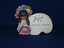 """FLOWER GIRL PLAQUE"" 1984 GOEBEL CHILDREN OF DEGRAZIA #7307 - 59 025 - MINT"
