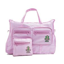 Alpha Kappa Alpha Sorority on the Go Pink Bag (One Size).  ONLY TWO LEFT!!