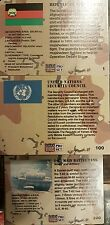 DESERT STORM TRADING CARDS FULL SET X250 +COLIN POWELL PROMO CARD.