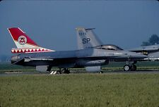 Original colour slide F-16A FA91 of 23 Sqdn. Belgian Air Force
